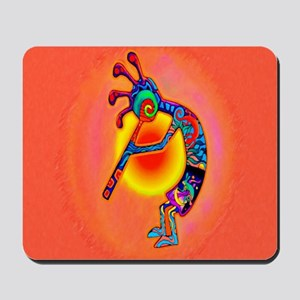 Lizard Kokopelli Sun Mousepad