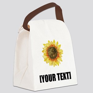 Sunflower Personalize It! Canvas Lunch Bag