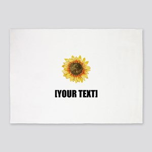 Sunflower Personalize It! 5'x7'Area Rug