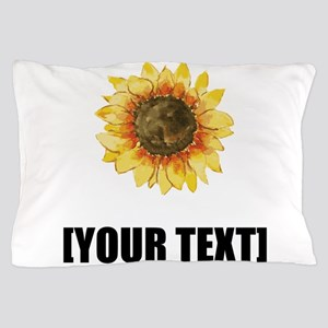 Sunflower Personalize It! Pillow Case
