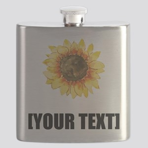 Sunflower Personalize It! Flask