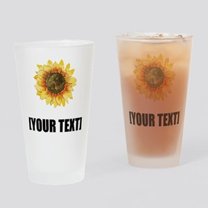 Sunflower Personalize It! Drinking Glass