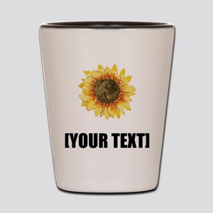 Sunflower Personalize It! Shot Glass