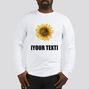 Sunflower Personalize It! Long Sleeve T-Shirt