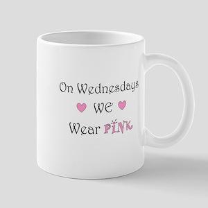 On Wednesdays we wear Pink Mugs