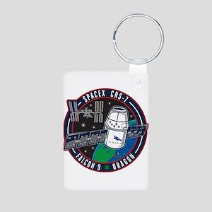 CRS-7 Logo Aluminum Photo Keychain
