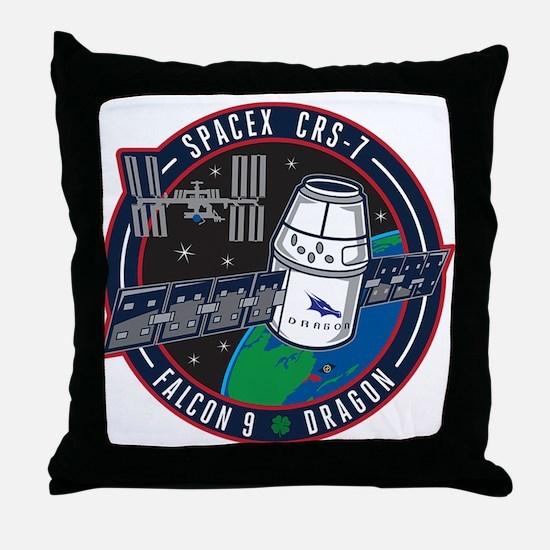 CRS-7 Logo Throw Pillow