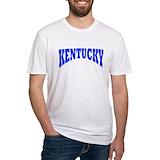 Kentucky wildcats Fitted Light T-Shirts