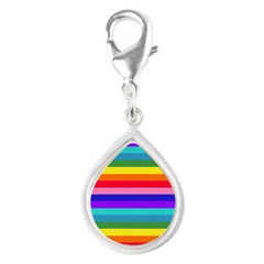 Stripes of Rainbow Colors Charms
