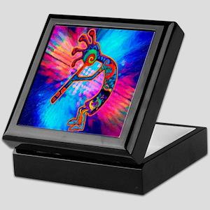 Rainbow Kokopelli 2 Keepsake Box