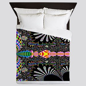 Black-and-Color-Laptop-SKin Queen Duvet