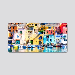 Naples Italy Aluminum License Plate