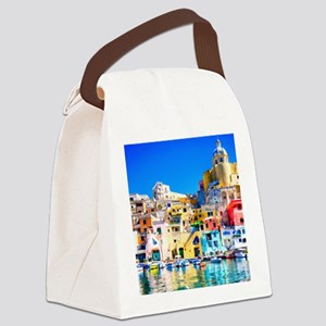 Naples Italy Canvas Lunch Bag
