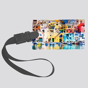 Naples Italy Luggage Tag