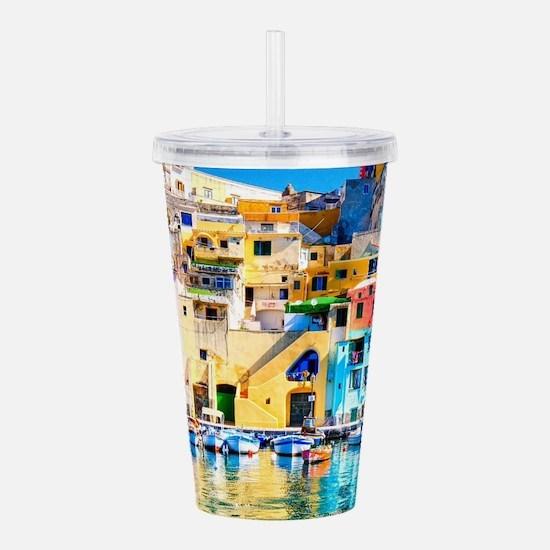 Naples Italy Acrylic Double-wall Tumbler