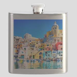 Naples Italy Flask
