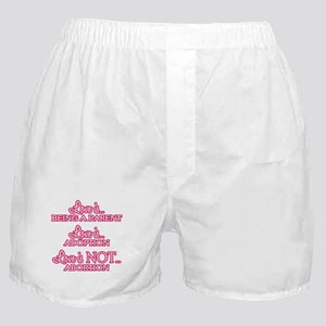 Love is Pro-Life Boxer Shorts