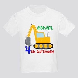 Bulldozer Custom Kids Light T-Shirt