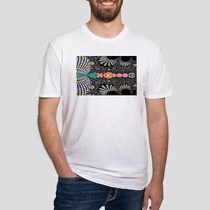 Black Shell Fractal art T-Shirt