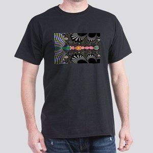 Black Shell Fractal art T-Shirt