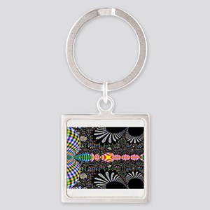 Black-and-Color-Laptop-SKin Keychains