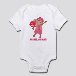 Please No Nuts Peanut Infant Bodysuit