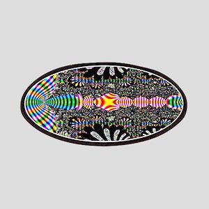 Black Shell Fractal art Patch