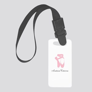 Team Pointe Ballet Pink Personal Small Luggage Tag