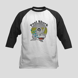 Nine Ball Pool Shark Baseball Jersey
