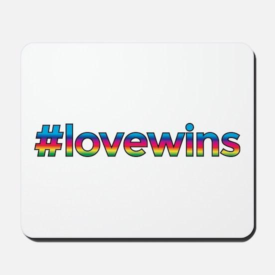 #lovewins Mousepad
