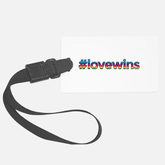 #lovewins Luggage Tag