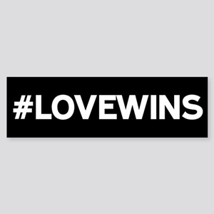 #LOVEWINS Bumper Sticker