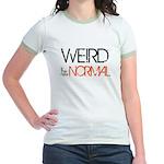 Weird is the New Normal Jr. Ringer T-Shirt