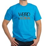 Weird is the New Norma Men's Fitted T-Shirt (dark)