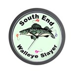 south end Walleye slayer ice fishing Clock