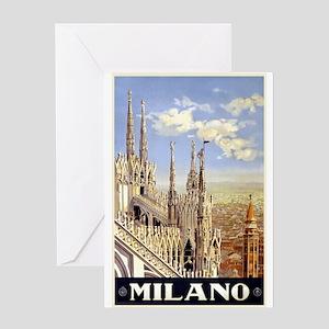 Milano Italia Greeting Card