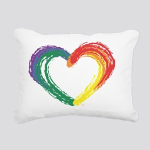 Love Wins Rectangular Canvas Pillow