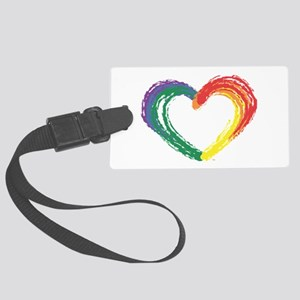 Love Wins Large Luggage Tag