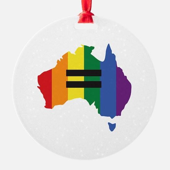 LGBT equality Australia Ornament