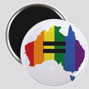 LGBT equality Australia Magnet