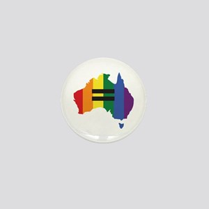 LGBT equality Australia Mini Button