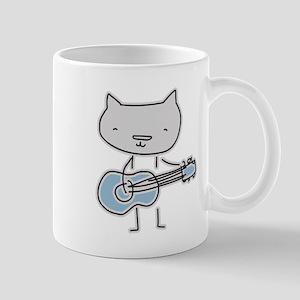 Guitar Cat Mugs