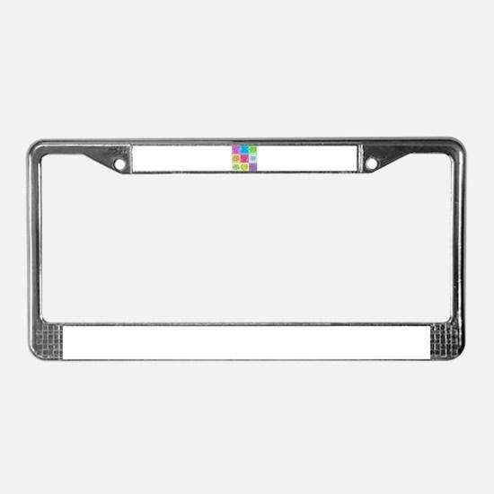 Pride and Prejudice Quotes License Plate Frame