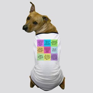 Pride and Prejudice Quotes Dog T-Shirt