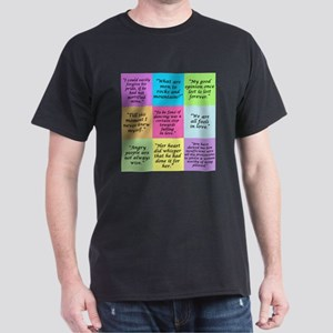 Pride and Prejudice Quotes T-Shirt