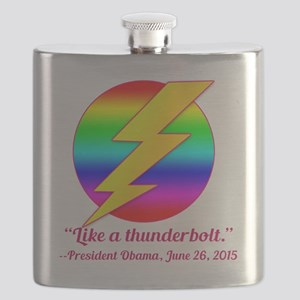 Justice Like a Thunderbolt Flask