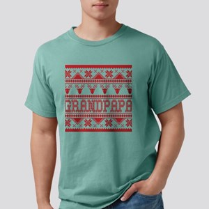 Christmas Ugly Xmas Sweater Grandpapa T-Shirt