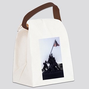 Iwo Jima Memorial Canvas Lunch Bag