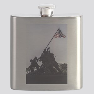 Iwo Jima Memorial Flask