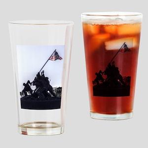 Iwo Jima Memorial Drinking Glass